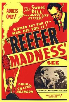Reefer Madness 1936 Movie Poster Print - Measurements: 36 inches by 24 inches Easy to frame Makes a great gift  - read more . . . Re-pin