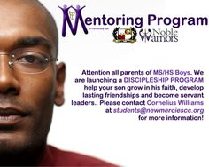 To be apart of positive change in a young persons life email us at students@newmerciesc.org.