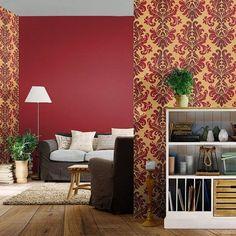 49 Ideas For Wallpaper Red Room Glitter Phone Wallpaper, Plain Wallpaper Iphone, Wallpaper For Sale, Xmas Wallpaper, Paper Wallpaper, Print Wallpaper, Trendy Wallpaper, Living Room Red, Living Room Mirrors