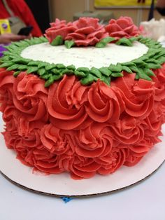 Final cake for Wilton course 1