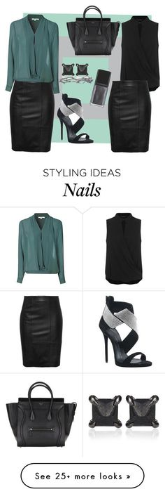 Outfit and on Polivore Fashion Mode, Work Fashion, Fashion Looks, Fashion Outfits, Womens Fashion, Fashion Trends, Runway Fashion, Fashion News, Looks Style