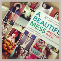 Already finished my #ABeautifulMess #photo book by Emma and @Elsie Larson of A Beautiful Mess from Katie - it's brilliant! Check out Katie's review of #ABM #app here... http://www.bykatieandjane.com/2013/06/app-review-beautiful-mess.html