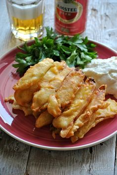 batter for fried zucchini Appetizer Recipes, Snack Recipes, Cooking Recipes, Healthy Recipes, Greek Cooking, Cooking Time, Appetisers, Mediterranean Recipes, Greek Recipes
