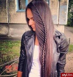really cool for long hair