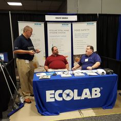 Ecolab of Arkansas is here to promote good ways to keep service space clean and healthy. We're taking a tour of the floor at the Arkansas Hospitality Association 2016 Trade Show at the Statehouse Convention Center. #aha2016show #arhospitality #statehouseconventioncenter #littlerock #awesomearkansas #arkansasmade #outofthisworld