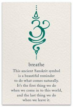 Breathe This Ancient Sanskrit Symbol Is a Beautiful Reminder to Do What Comes Na… Tattoo quates – Top Fashion Tattoos Future Tattoos, New Tattoos, Body Art Tattoos, Cool Tattoos, Tatoos, Awesome Tattoos, Buddha Tattoos, Frases Namaste, Frases Yoga