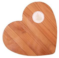 "Out of the Woods of Oregon Heart 11-by-11-"" Cutting Board 