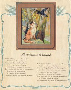 Le corbeau et le renard - La Fontaine