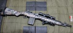 Springfield Armory SOCOM 16 M1A 7.62x51mm 20rd Tactical Rifles, Firearms, Sniper Rifles, Shotguns, Scout Rifle, Battle Rifle, Springfield Armory, Fire Powers, Custom Guns