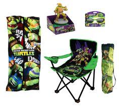 Teenage Mutant Ninja Turtles Summer Fun includes Folding Chair, Beach Towel, Sunglasses and Sprinkler