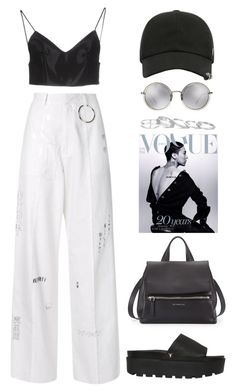 """""""Manila"""" by mikaylaperrine ❤ liked on Polyvore featuring Hyein Seo, Windsor Smith, Alexander Wang, Givenchy, Kendra Scott and Linda Farrow"""