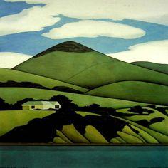 Works on Paper - Robin White - Australian Art Auction Records Nz Art, Art For Art Sake, Cuban Art, Lake Painting, New Zealand Landscape, Landscape Artwork, 3d Landscape, New Zealand Art, Australian Art