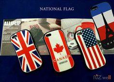 National Flag Skin Tank Jelly Case
