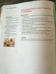 Macarrons amb tomàquet i xoriço