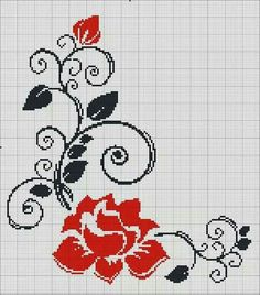 This Pin was discovered by Mün Mini Cross Stitch, Cross Stitch Heart, Beaded Cross Stitch, Cross Stitch Borders, Crochet Cross, Modern Cross Stitch Patterns, Cross Stitch Animals, Cross Stitch Flowers, Cross Stitch Designs
