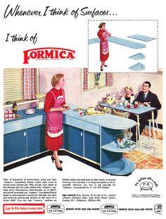 1955 Formica ad