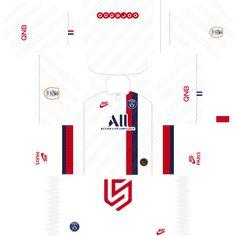 PSG Kit 19 - 2020 Dream League Soccer 2019 - RisTechy Psg, Soccer Kits, Soccer Games, Football Workouts, Paris Saint, European Football, Arsenal Fc, College Basketball, Goalkeeper