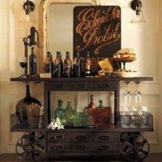 wine/bar cart