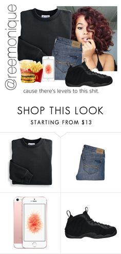 """""""Untitled #23"""" by reemonique ❤ liked on Polyvore featuring Blair, Abercrombie & Fitch and NIKE"""