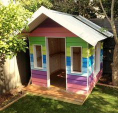 kinderspielhaus design lustig farbig