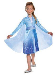 Disney Girls Frozen 2 Elsa Snow Princess Costume Dress Up Cape Girls & Toddler Disney Halloween, Classic Halloween Costumes, Fancy Costumes, Halloween Costumes For Girls, Halloween Dress, Frozen Halloween, Costume Parties, Couple Halloween, Funny Halloween