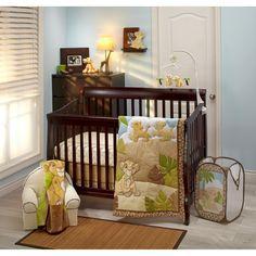 Lion King 3pc Crib Bedding Set