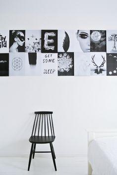 My Attic: My new Bedroom Wall