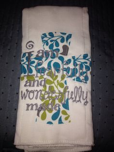 I Am Fearfully & Wonderfully Made on Etsy, $6.00