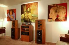 Vintage 2 Channel Setup with Infiniti Speakers...
