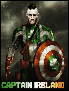 Irish Independence, Connor Mcgregor, Fantasy Heroes, Erin Go Bragh, Jack Flag, Celtic Fc, Irish American, Comic Book Characters, Kingfisher