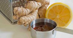 Give your immune system a boost with this wonderful lemon ginger tea. It not only tastes great, but it will kick any infection or sniffles in the butt. Yummy Smoothies, Juice Smoothie, Yummy Drinks, Tea Recipes, Dog Food Recipes, Healthy Recipes, Cocktail Juice, Ginger Tea, My Tea