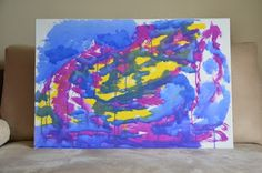 """Moonlight of my heart  2011, Acrylic & Poster on Canvas, 36"""" (w) x 24"""" (h)"""