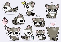 High quality vector clipart. Cute raccoons vector clip art. Perfect for creating greeting cards,invitations and stationery, decorating your blog or website, designing posters and room decor for children or babies. Can be used for digital or print. Great for baby foom decor, gift cards and wrapping paper, scrapbooking and blogs or websites.  These high quality vector elements come in a fully editable illustrator file as well as pngs with blank backgrounds as well as jpegs. You can easily…