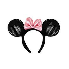 Minnie Mouse Sequin Ears Headband