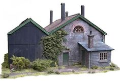 how to make realistic model buildings