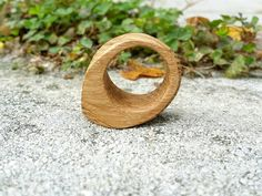 Natural Wood Ring, Eco Friendly Ring, Size 5 Ring, Wood Jewelry, Wooden Ring, Wood Ring, Handmade Ring, Chestnut Wood Ring, Ecochic Ring  The