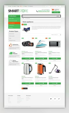 Smart Gear Shopify Theme E-commerce Templates, Shopify Themes, Electronics Templates, Electronics Store Templates