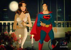 Lois Interviews Superman By Des Taylor