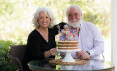 A Birthday Cake for Michael - Paula Deen Paula Deen, Cake Cookies, Cupcake Cakes, Cupcakes, Frosting Recipes, Cake Recipes, Quinoa, Banana Nut Cake, Pasta