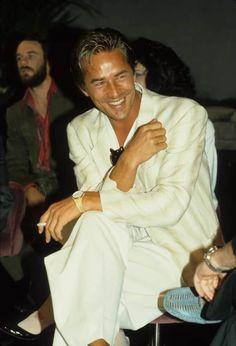 Mickey Rourke, Don Johnson, Miami Vice, Dirty Dancing, Hollywood Stars, Attore, 1984, Funky Fashion, Indiana Jones
