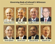 The governing body- we know Jehovah is a happy God, with the great sense of humor our brothers have!