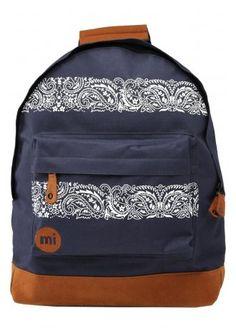 on sale 6cf36 463b7 Mi-Pac Bandana Navy Backpack £21.99 Rucksack Backpack, Bandana, Purses And  Bags