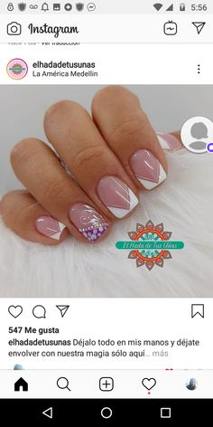 Claws, Nails, Beauty, Cute Nail Designs, Simple Elegant Nails, Fingernail Designs, Finger Nails, Ongles, Beauty Illustration