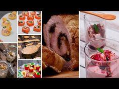 EL MENÚ DE NAVIDAD MÁS COMPLETO | Cómo impresionar a tus invitados - YouTube Xmas Dinner, Canapes, Cheesecakes, Christmas Time, Muffin, Breakfast, Food, Youtube, Zucchini Cupcakes