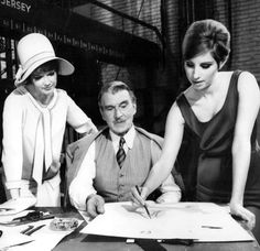 Walter with Anne and Barbra in Funny Girl