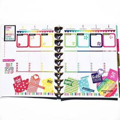 Here's my spread for #plannerplunge! A few new things her