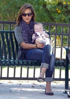 beautiful mommy style