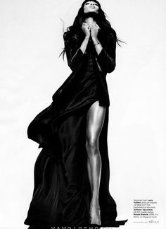 Naomi Campbell Stuns In 'Leave It to Diva' by Thomas Whiteside for Elle US February 2013 - 3 Sensual Fashion Editorials | Art Exhibits - Anne of Carversville Women's News