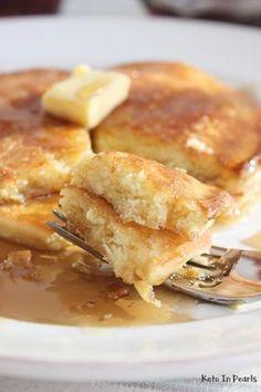 Diet Recipes The Best Keto Pancakes Best Keto Pancakes, Low Carb Pancakes, Low Carb Breakfast, Breakfast Recipes, Fluffy Pancakes, Keto Pancakes Coconut Flour, Ketogenic Breakfast, Breakfast Ideas, Keto Cream Cheese Pancakes