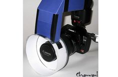 DIY Photo Project – Easy CD Spindle Ring Flash  By: admin